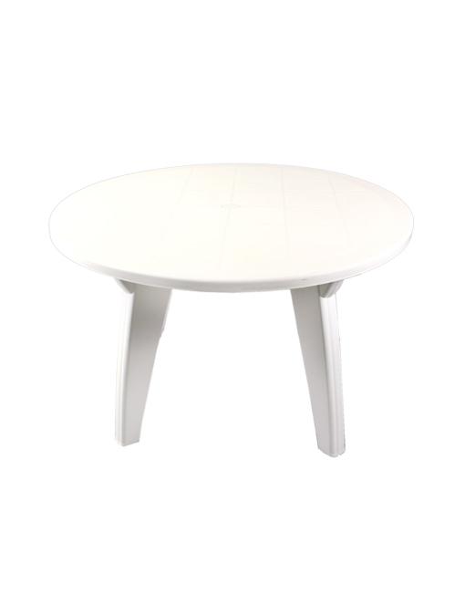 39 f46500 mesa silver 1 20 mts blanca patas ornamentales for Muebles avelino