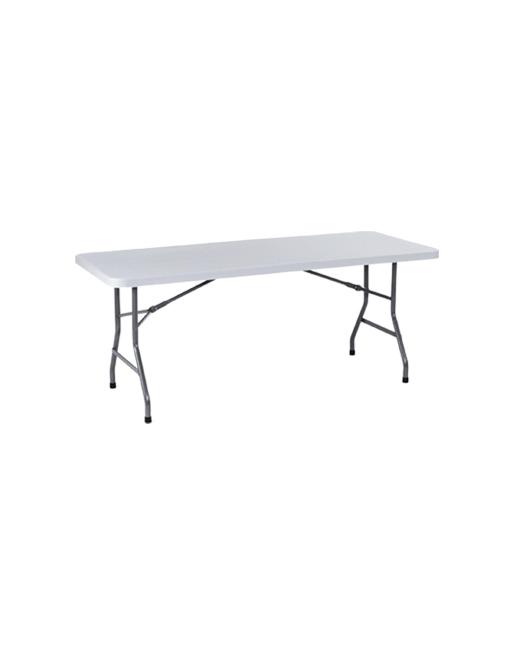 T404000 mesa picnic plegable blanca avelino s a for Muebles avelino